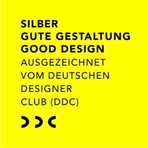 Gelbes Bild Silber Gute Gestaltung Deutscher Designer Club